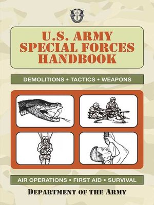 cover image of U.S. Army Special Forces Handbook