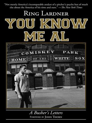 cover image of You Know Me Al