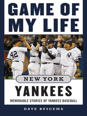 cover image of Game of My Life New York Yankees