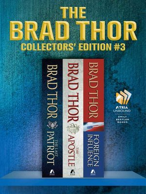 cover image of Brad Thor Collectors' Edition #3