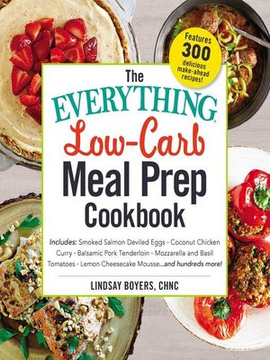 cover image of The Everything Low-Carb Meal Prep Cookbook