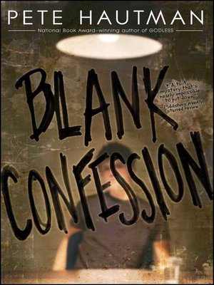 cover image of Blank Confession
