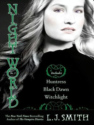 cover image of Huntress, Black Dawn, Witchlight