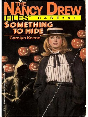 cover image of Something to Hide