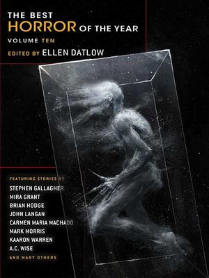 cover image of Best Horror of the Year Volume 10