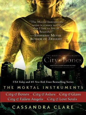 cover image of The Mortal Instruments Series, Books 1 - 5