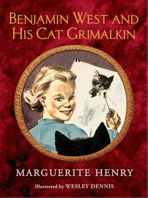 cover image of Benjamin West and His Cat Grimalkin