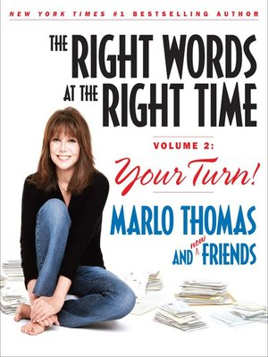 cover image of The Right Words at the Right Time Volume 2
