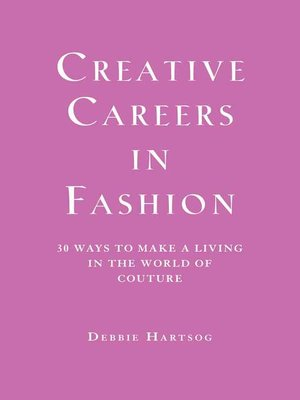 cover image of Creative Careers in Fashion