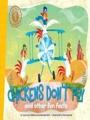 cover image of Chickens Don't Fly
