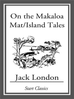 cover image of On the Makaloa Mat/Island Tales