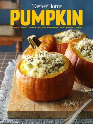 cover image of Taste of Home Pumpkin Mini Binder