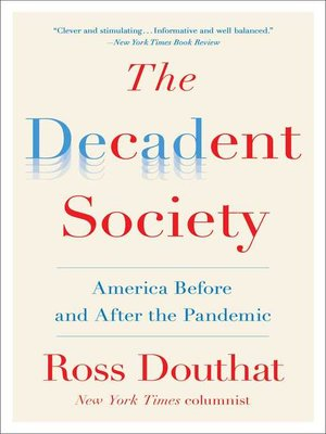 cover image of The Decadent Society
