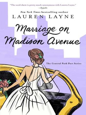 cover image of Marriage on Madison Avenue