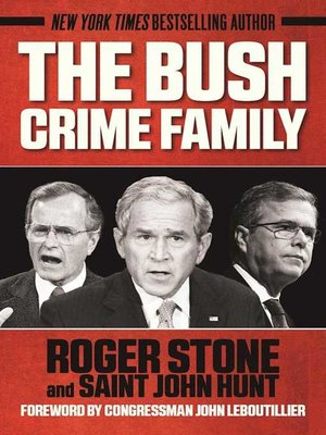 cover image of The Bush Crime Family