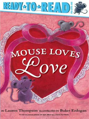 cover image of Mouse Loves Love