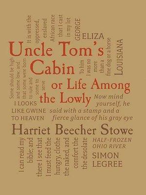 Uncle Tom S Cabin By Harriet Beecher Stowe Overdrive