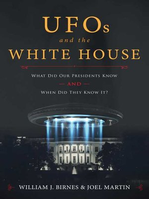 cover image of UFOs and the White House