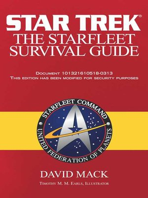 cover image of The Starfleet Survival Guide