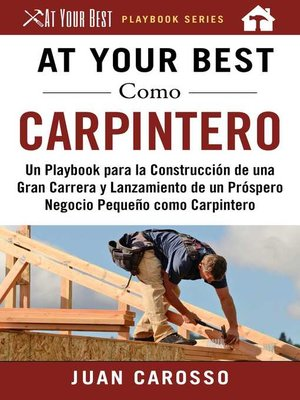 cover image of At Your Best Como Carpintero