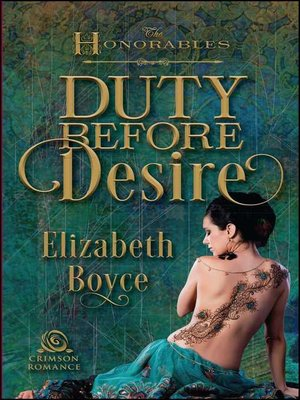 cover image of Duty Before Desire