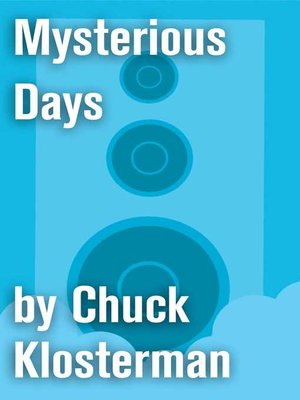 cover image of Mysterious Days