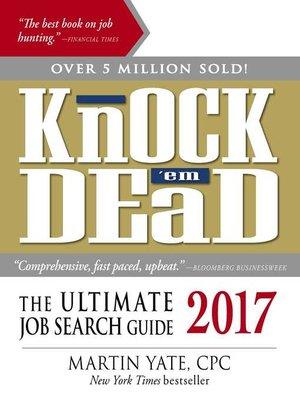 Knock U0027em Dead 2017  Knock Em Dead Resumes