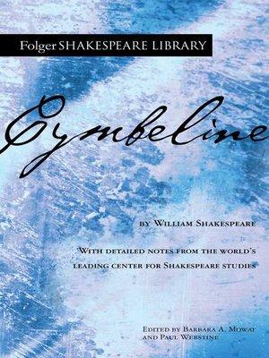 cover image of Cymbeline
