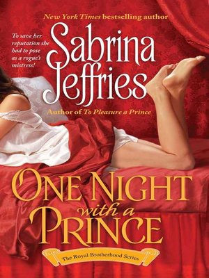 cover image of One Night With a Prince