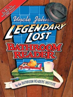 cover image of Uncle John's Legendary Lost Bathroom Reader