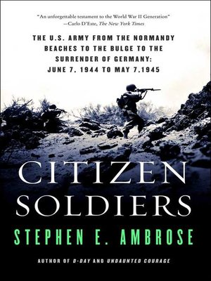 cover image of Citizen Soldiers