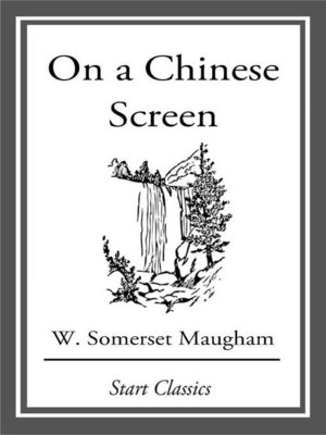 cover image of On a Chinese Screen