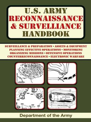 cover image of U.S. Army Reconnaissance and Surveillance Handbook