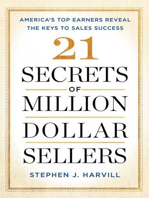 cover image of 21 Secrets of Million-Dollar Sellers
