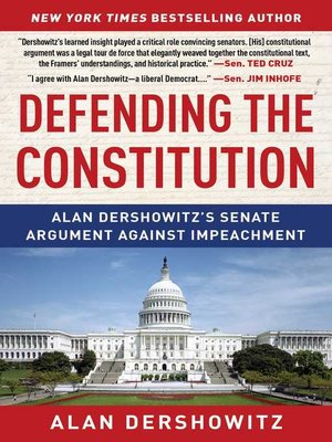 cover image of Defending the Constitution
