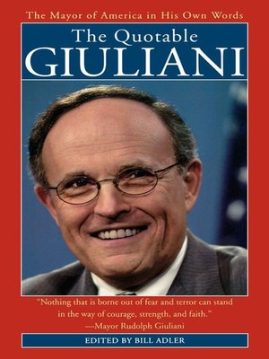 cover image of The Quotable Giuliani