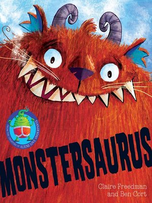 cover image of Monstersaurus!