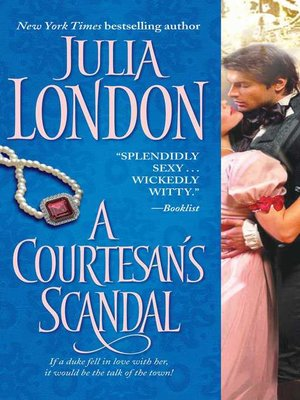 cover image of A Courtesan's Scandal