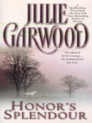 cover image of Honor's Splendour