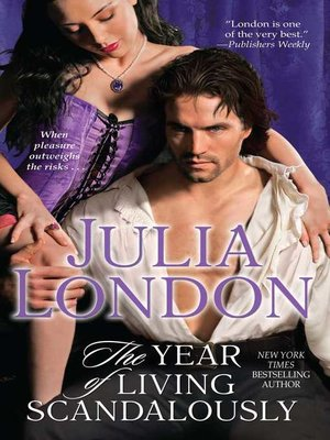 cover image of The Year of Living Scandalously