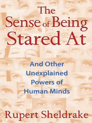 cover image of The Sense of Being Stared At