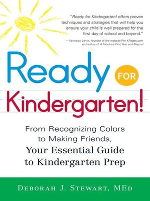 cover image of Ready for Kindergarten!