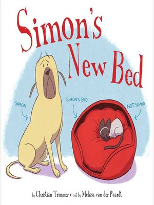 cover image of Simon's New Bed