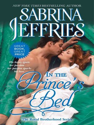 cover image of In the Prince's Bed