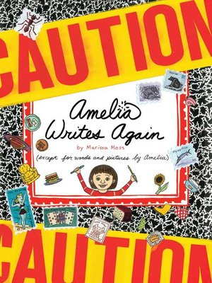 cover image of Amelia Writes Again