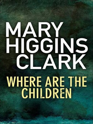 cover image of Where Are The Children