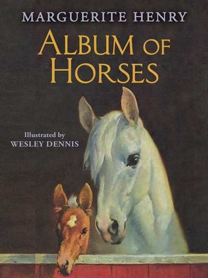 cover image of Album of Horses