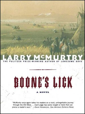 cover image of Boone's Lick