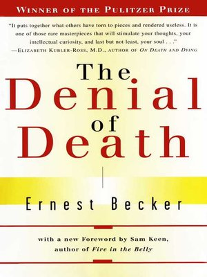 cover image of The Denial of Death