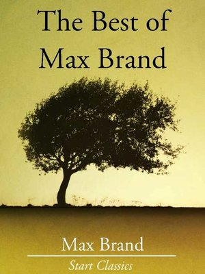 cover image of The Best of Max Brand